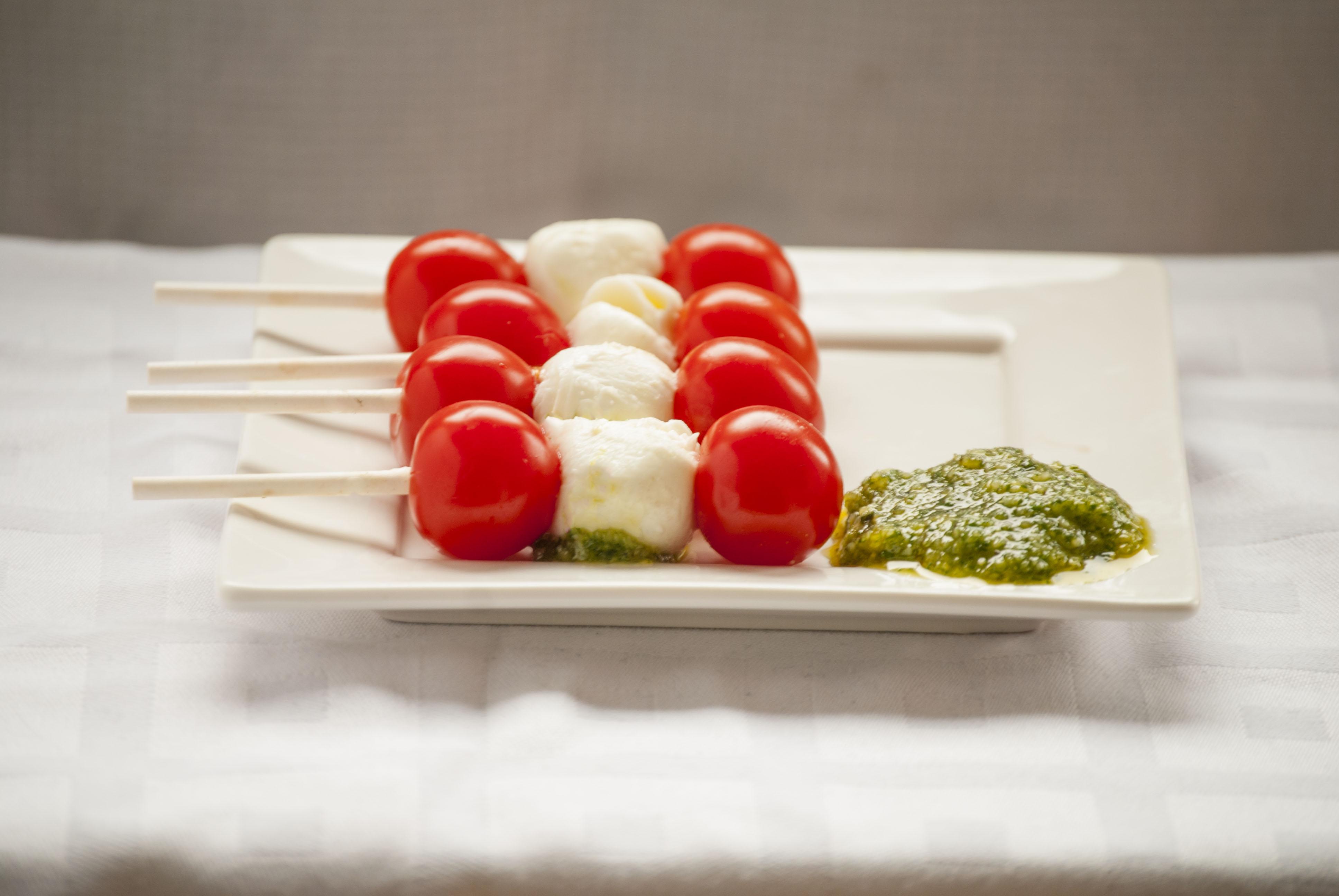 pesto-tomaat