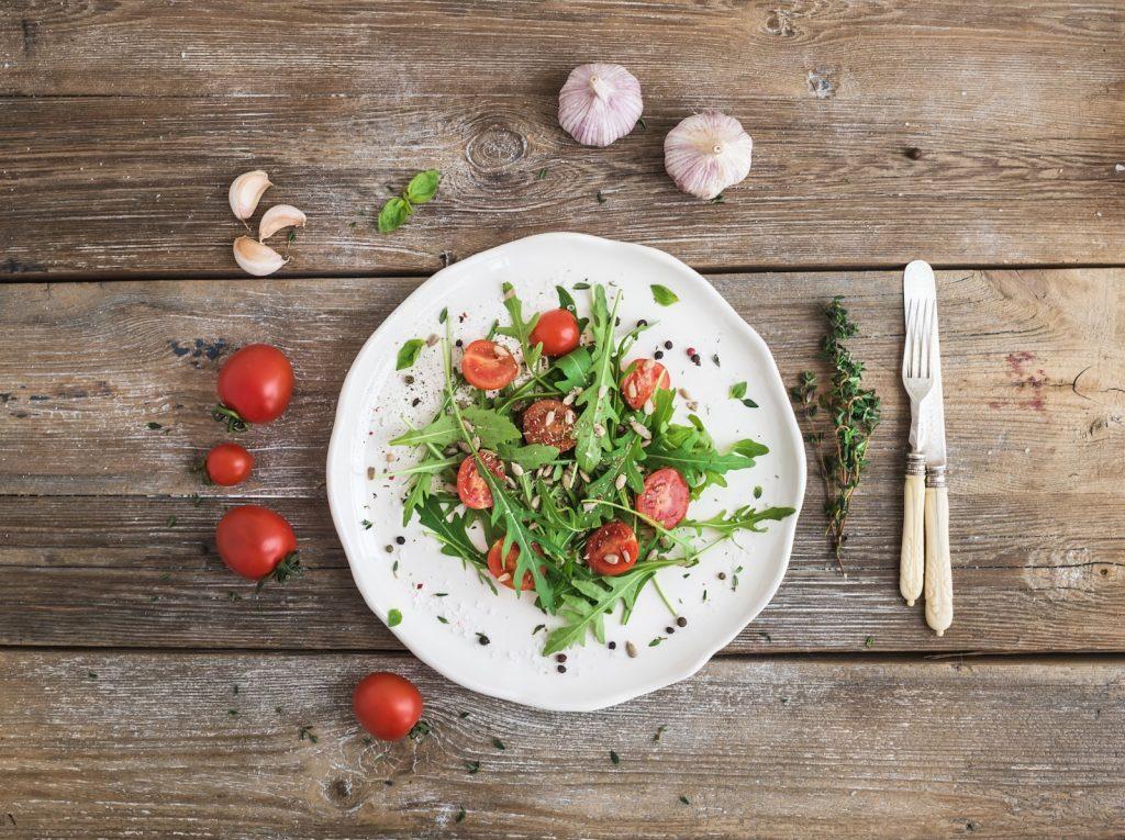 salade om af te vallen