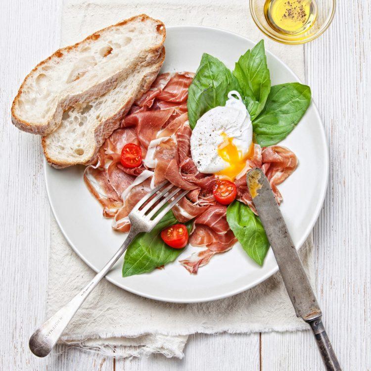 ontbijt afvallen ei