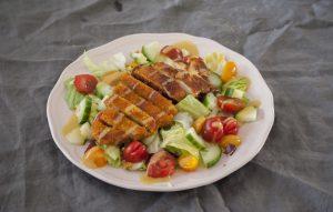 gezonde salade met kip