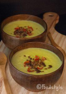 warme avocado soep
