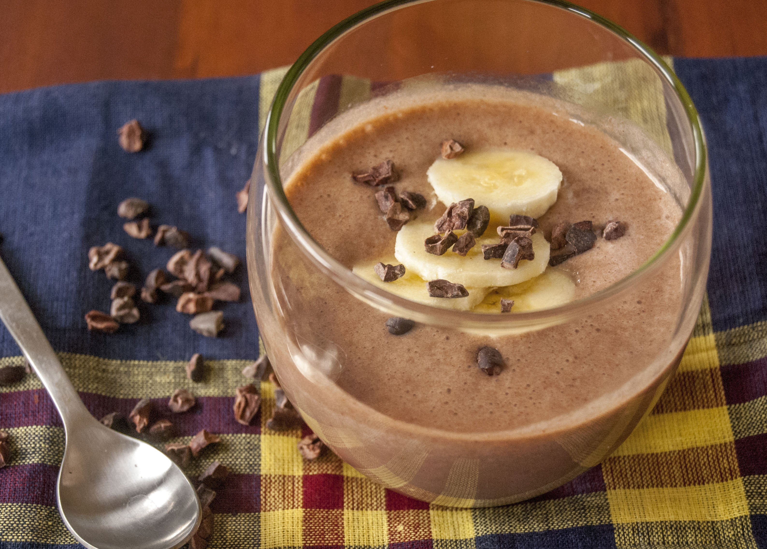 banaan cacao smoothie