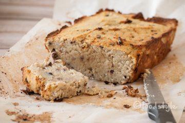 Cake met kokosmeel