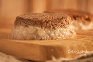 Slanke en gezonde cheesecake met banaan