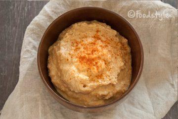zelfgemaakte hummus