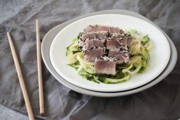 sesam tonijn salade