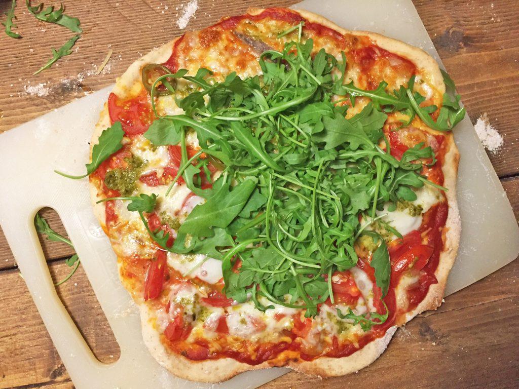 Gezonde en slanke pizza zelf maken