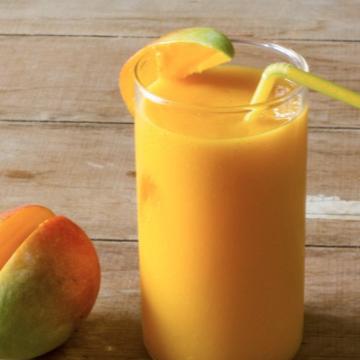 Smoothie mango banaan meloen