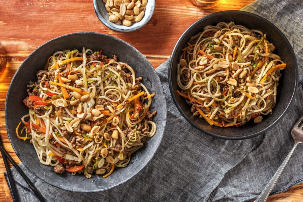 Hello fresh noodles recept